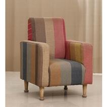 Maubara Multi-color Upholstery Traditional Sofa Armchair