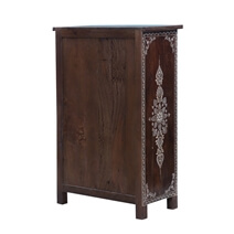 Bouldin Solid Wood 11 Drawer Chest of Drawer Moroccan Dresser