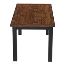 Bolsover Two-Tone Solid Wood Farmhouse Dining Table
