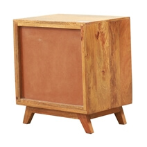 Souris Retro Mango Wood Accent Nightstand