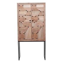 Bodmin Rustic Solid Wood Modern Storage Cabinet