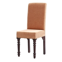 Bergamo Solid Wood Round Dining Table Chair Set