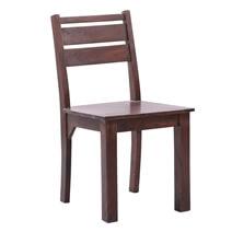 Preston Modern Rustic Solid Wood Dining Chair