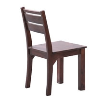 Preston Modern Solid Wood Dining Table and Chair Set