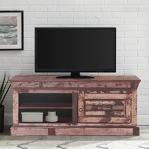 Alghero Rustic Reclaimed Wood 47 TV Stand Media Cabinet