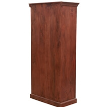 Solid Wood 4 Tier Antique Accent Armoire
