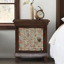 "Pretoria Solid Wood Handcrafted 24"" Bedside Nightstand"