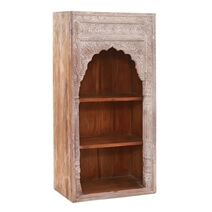 """Solid Wood Hand-carved 60"""" Bookcase"""