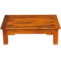 Beloit 100% Handcrafted Rectangular Solid Wood Coffee Table