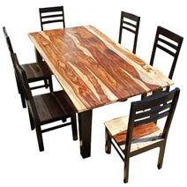 Dallas Ranch Vandana Contemporary Ladder-back Chair Dining Set