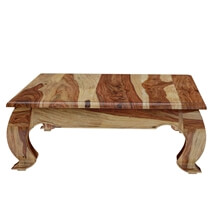 Halfeti Rustic Solid Wood Large Opium Coffee Table