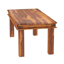 Philadelphia Classic Transitional Rustic Solid Wood Dining Room Table