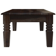 Sierra Nevada Contemporary Black Coffee Table with Drawer