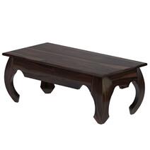 Santa Fe Solid Wood Rectangular Opium Coffee Table