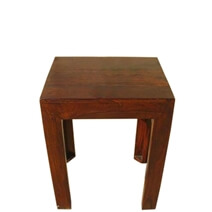 Chelsea Rustic Solid Wood Lamp End Table