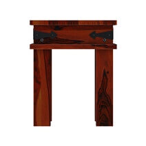 Altamont Traditional Style Solid Wood Square End Table