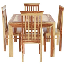 Ostrander 5Pc Kitchen Dinette Dining Table and Chair Set