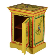 Byesville Hand-painted Solid Wood Nightstand