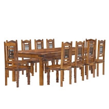 San Francisco Rustic Furniture Dining Table with Chairs Set