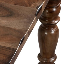 Acacia Solid Wood Large Dining Room Table For 8 People