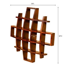 Contemporary Wood Display Wall Hanging Shelves Home Decor Shadow Boxes