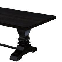 Harold Triple Pedestal Extra Large Dining Table For 12 People