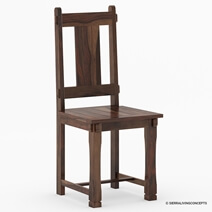 Richmond Solid Wood Hand Carved Dining Chair