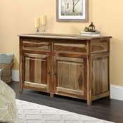 Wilmot Unique Solid Wood Lift Top Storage Buffet Cabinet
