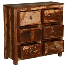 New Memories Reclaimed Wood 6-Drawer Dresser