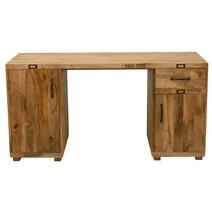 Boston Solid Mango Wood Double Pedestal Executive Desk