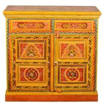 Bradford Hand Painted Mango Wood 2 Drawer Storage Cabinet