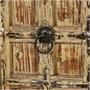 Marion Winter Solid Mango & Reclaimed Wood Tall Narrow Linen Cabinet