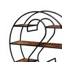 S-in-O Reclaimed Wood & Iron Open Display Shelf