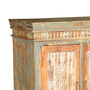 Hilliardville Rustic Mango Wood Handcrafted Storage Cabinet