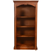 Tioga 2 Door Solid Mango Wood Armoire With Shelves