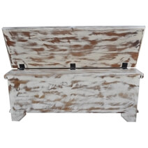 Winter Storm Reclaimed Wood Standing Coffee Table Chest