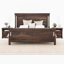 Pioneer Transitional 7 Piece Bedroom Set