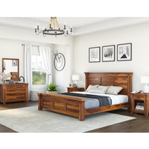 Modern Farmhouse 7 Piece Bedroom Set
