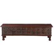 Gothic Classic Reclaimed Wood 60 Storage Trunk Chest