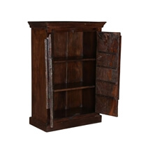 Willamette Arched Door Rustic Reclaimed Wood Accent Cabinet