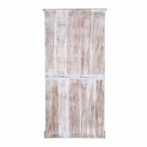 Farnam Distressed Reclaimed Wood Double Door Rustic Armoire