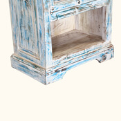 Winter Morning 31 Gothic Reclaimed Wood Bedside Table