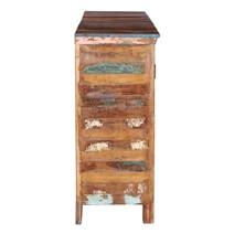 Tangier Reclaimed Wood 4 Shutter Door Dining Room Large Sideboard