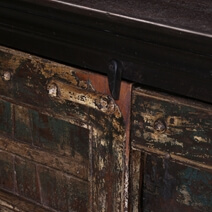 Columbia Gothic Reclaimed Wood Two Door Rustic Storage Cabinet