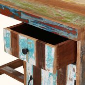 Windham Handcrafted Reclaimed Wood 1 Drawer Study Desk
