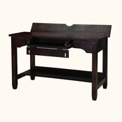 "Lincoln Solid Mango Wood 47"" Student Computer Desk"