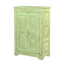 Bellerive Handcrafted Rustic Reclaimed Wood Storage Cabinet