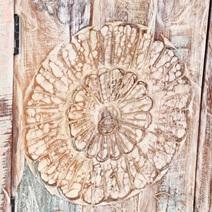 Arvada Primitive Rustic Reclaimed Wood 4 Drawer Large Sideboard