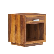 Flagstaff Handcrafted Solid Wood 1 Drawer Nightstand