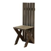Modern Pioneer Handmade Tall Back Patio Chair